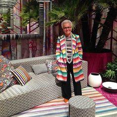 Rosita Missoni during Milan Design Week