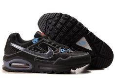 Nike Air Max Skyline not expensive - shoes for men black blue HOT SALE! HOT