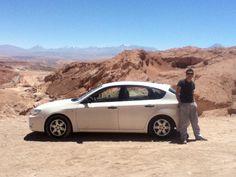 Alejandro de la puente Llegando a San Pedro de Atacama
