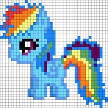 Billedresultat for perler bead patterns my little pony