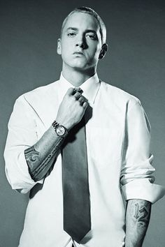 Eminem looking good:)