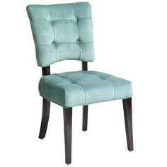 Fionn Dining Chair - Aquamarine  Would love to have these replace the 2 armed chairs in the dining room.