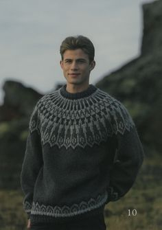 - Icelandic Dropar (Drops) Mens Wool Sweater Green - Tailor Made - Nordic Store Icelandic Wool Sweaters - 1 Mens Knit Sweater Pattern, Mohair Sweater, Sweater Knitting Patterns, Sweater Design, Icelandic Sweaters, How To Dress For A Wedding, Green Sweater, Sweaters For Women, Mens Wool Sweaters