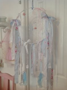 My Shabby Chic Pink Palace= I taught myself how to make this dreamcatcher on YouTube,so easy to make!!!