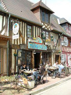 Basse-Normandie, Calvados, Beuvron-en-Auge