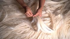"""""""A TEXTILE IS ONLY AS GOOD AS THE FIBER FROM WHICH IT'S WOVEN"""". We handle our fibers with reverence, care and impeccable skill #VERDIClips Fiber Art, Handle, Textiles, Flooring, String Art, Wood Flooring, Fabrics, Door Knob, Floor"""