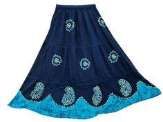 Maxi Skirt Dark Blue Embroidered Stonewashed Rayon Gypsy Skirt Mogul Interior,http://www.amazon.com/dp/B00IQ6S01Q/ref=cm_sw_r_pi_dp_dVWftb1N7FG8B24A