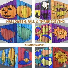 Agamographs for Fall Activities, Halloween Activities & Th