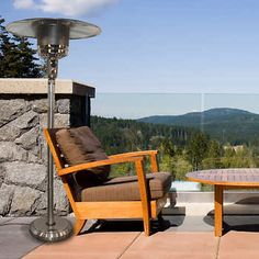Paramount® Stainless Steel Natural Gas Patio Heater with Quick Connect