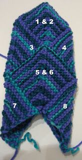 Mitered Mitten Pattern Yarn: Light worsted or DK Sized for Women& hand small Needles: Size 5 double pointed needles, for larger siz. Mittens Pattern, Knit Mittens, Knitting Socks, Knitting Patterns Free, Free Knitting, Hat Patterns, Belly Dance Outfit, Only Clothing, Tribal Fashion