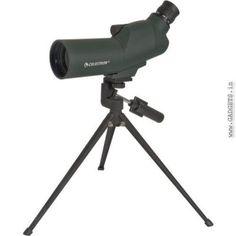 Celestron Zoom Spotting Scope - 50Mm - 45° Upclose Refractor Series Spotting Scope