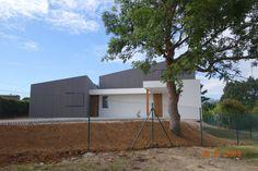 Fachada de la #vivienda #passivhaus de Muros del Nalón #Asturia www.timberonlive.com