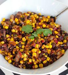 Skinny Black Bean and Corn Salsa