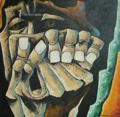 ECUADOR. Oswaldo Guayasamin. Oswaldo Guayasamín. Hijo de un obrero indígena y una madre dueña de casa, este artista llegó a ser considerado uno de latinoamericanos más internacionales. Provino de la miseria más absoluta, del hambre y de la desesperanza, pero supo no sólo sobreponerse a esa adversidad sino grabar su nombre en la historia del arte