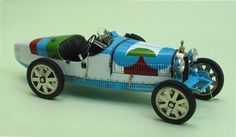 Bugatti Type 35 livery by Sonia Delaunay