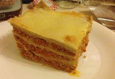 Fitt lasagne recept képpel.