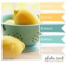 aqua & peach & yellow color palettes  | Recent Photos The Commons Getty Collection Galleries World Map App ...