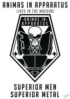 Animas In Apparatus A Badge for the game Xcom: Enemy Unknown/Within  Idea to do this came from Beaglerush's Xcom Live and Impossible series, With Frag's death and his resurrection in the form of an Alloy Shiv.