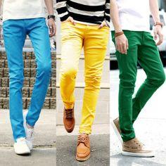 famosa marca de diseñador último estilo de 2019 100% de alta calidad Las 26 mejores imágenes de Pantalones de colores para ...