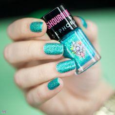 Sephora Shourouk Limited Edition nail polish Blue Topaz