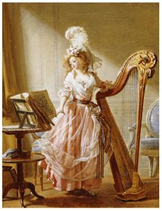 The Music Lesson - Michel Garnier (1788)