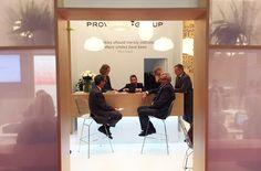 Provital Group Incosmetics 17 London stand 4. Exhibition design.
