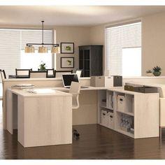 Bestar I3 1 Piece U-Shaped Desk Office Suite & Reviews   Wayfair