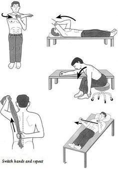 Frozen shoulder exer