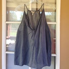 Joie Chambray Tank Top Great Joie Tops Blouses
