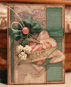 Eclectic Paperie: You & Me against the world 0- Mary-Ann Maldonado