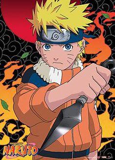 Naruto Wall Scroll - Naruto Kunai