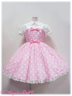 Dot Pretty Girl OP pink
