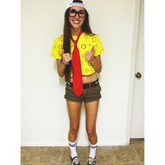 76 Halloween Costumes For Women That Are Seriously GENIUS SpongeBob SquarePants