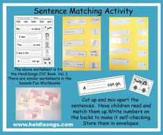Common Core Literacy Centers: How to Create a Manipulative Out of a Worksheet