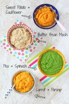 4 Baby Puree Recipes That Make Great Side Dishes Top Tip For Weaning Baby Puree Recipes, Pureed Food Recipes, Baby Weaning Recipes Puree, Baby Recipes With Egg, Baby Food Recipes Stage 1, Protein Recipes, Juice Recipes, Detox Recipes, Salad Recipes
