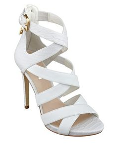 Guess - ABBY STRAPPY HEELS $120.00