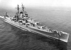 Heavy Cruiser, USS Albany (CA-123)