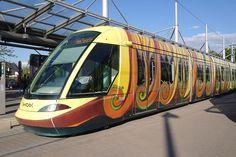 Tramway de Strasbourg habilé par Luc Schuiten. - Tramway de Strasbourg — Wikipédia