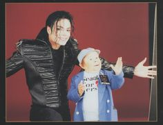 Michael Jackson Exclusive Very Rare Foto/Photo WHO IS IT
