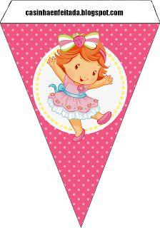Kit Festa Moranguinho Baby Para Imprimir Grátis Strawberry Shortcake party free