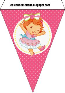 Charming Child: Baby Strawberry Shortcake Party Kit For Free Print