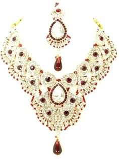 Checkout our #awesome product Bollywood Style Indian Imitation Necklace Set / AZBWBR028-GRD - Bollywood Style Indian Imitation Necklace Set / AZBWBR028-GRD - Price: $125.00. Buy now at http://www.arrascreations.com/bollywood-style-indian-imitation-necklace-set-azbwbr028-grd.html