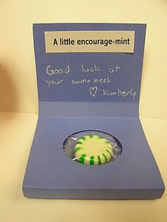 Encourage-mint. A cute way to let the survivor in your life know that you are thinking of them!