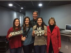 This group escaped from Sheriff McLarren's office in 56 minutes!