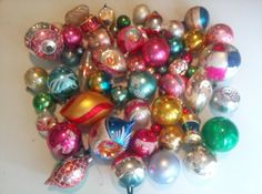 Christmas Ornaments by MJsAntiques on Etsy