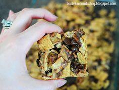 NO BAKE Peanut Butter Smores Bars @Beverly Kaine For Seconds http://backforsecondsblog.com #dessert #nobake #smores