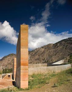 Hotson Bakker Boniface Haden Architects - Nk'Mip Desert Cultural Centre, Osoyoos, Canada, 2006