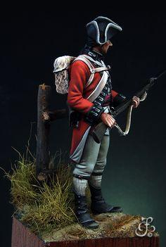 8 British Army Uniform, British Soldier, Military Figures, Military Diorama, American Revolutionary War, American War, Independence War, Military Modelling, Colonial America