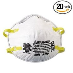 "3M ""N-95"" Mask: N-95's belong in your car's glove compartment and in your home. While basic filtration is not enough to protect you from prolonged exposure to harmful agents, even something as simple as this cheap, disposable mask can greatly reduce your vulerability to all sorts of common, nasty agents (from smoke and chemical fumes to low concentrations of chlorine or sarin) while you remove yourself from a harmful situation."