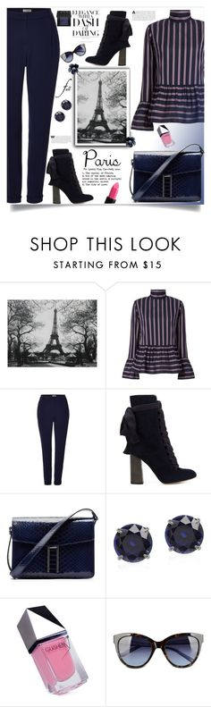 """""""I Love Paris In The Fall"""" by southindianmakeup1990 ❤ liked on Polyvore featuring WALL, Le Sarte Pettegole, Marella, Chloé, Hayward, GUiSHEM and Love Moschino"""